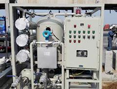 高效双级真空滤油机在中海油投入使用