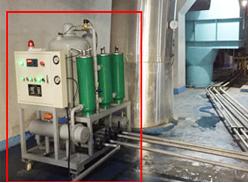 QJC系列真空滤油机在泸州市垃圾焚烧发电厂投入使用